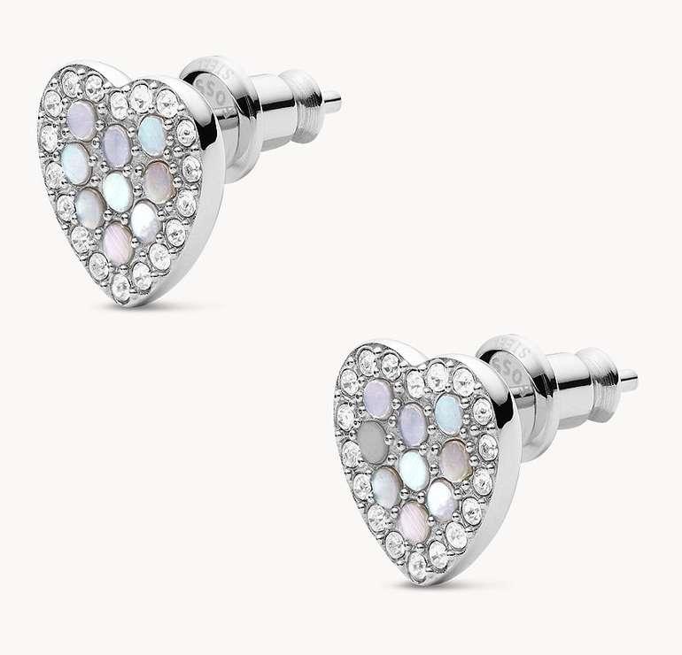 Fossil Damen Ohrringe Mosaic Heart (JF03413040) für 14€ inkl. Versand (statt 27€)