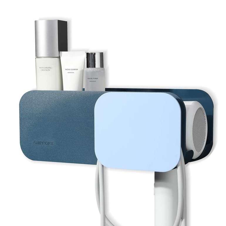 Zunto selbstklebender Fönhalter mit Kabelhalterung für 7,92€ inkl. Prime VSK
