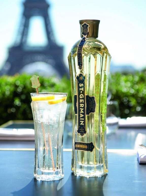 St. Germain Spritz Pack Holunderblütenlikör (0,7l, 20%) + Glas Set für 26,99€ (statt 31€)