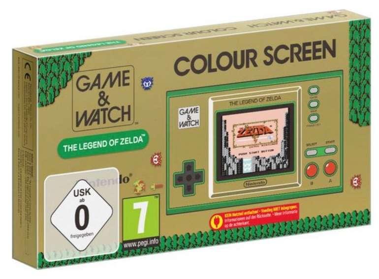 Nintendo Game & Watch: The Legend of Zelda für 48,53€ inkl. Versand (statt 60€)