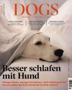 """Zeitschrift """"Dogs"""" im Jahresabo für 39€ + z.B. 30€ Gutschein für Amazon"""