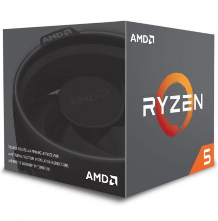 AMD Ryzen 5 2600 CPU BOX Prozessor, 6-Core, 3,4GHz für 112,83€ (statt 124€)