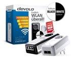 devolo dLAN 500 AV Wireless+ Starter Kit (2x Adapter) Black & White für 69,90€