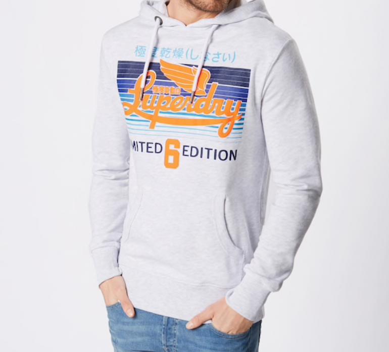 """Superdry Herren Sweatshirt """"Limited Icarus Lite Hood"""" für 26,96€ (statt 66€)"""