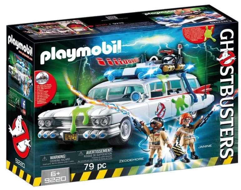 Playmobil Ghostbusters - Ecto-1 mit Licht- und Soundeffekten (9220) für 34,43€ (statt 52€)