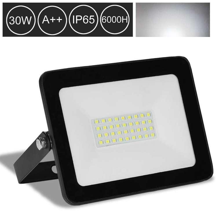 Hengda LED Fluter mit 30% Rabatt reduziert, z.B. 30 Watt Kaltweiß mit 2550lm für 9,79€ inkl. VSK
