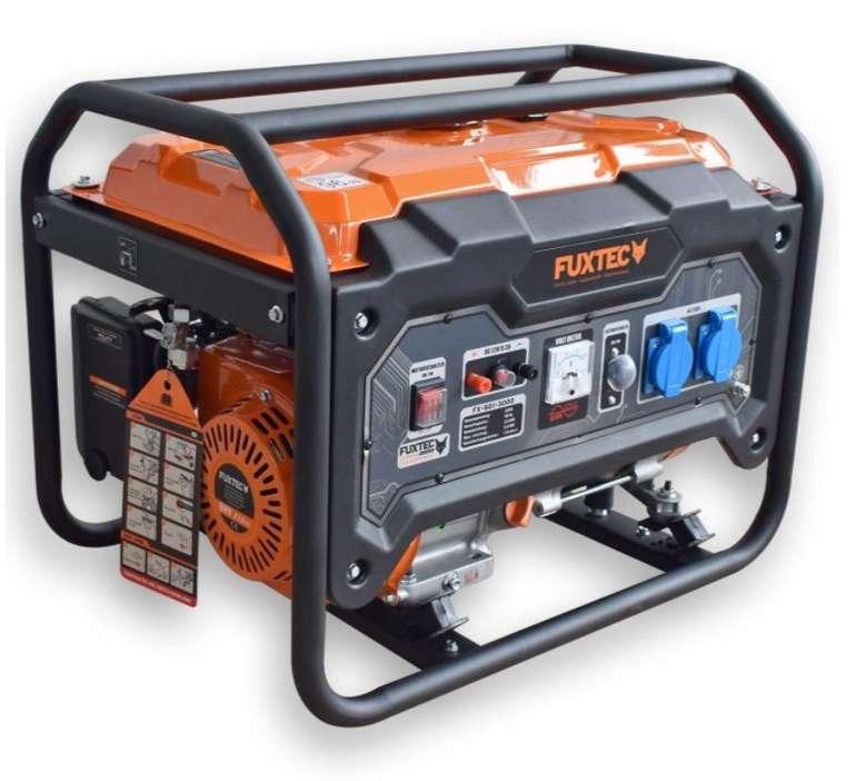 Fuxtec SG1-3000 Stromerzeuger (ohne Räder) mit 2.500 Watt Laufleistung für 203,15€ (statt 319€) - B-Ware!
