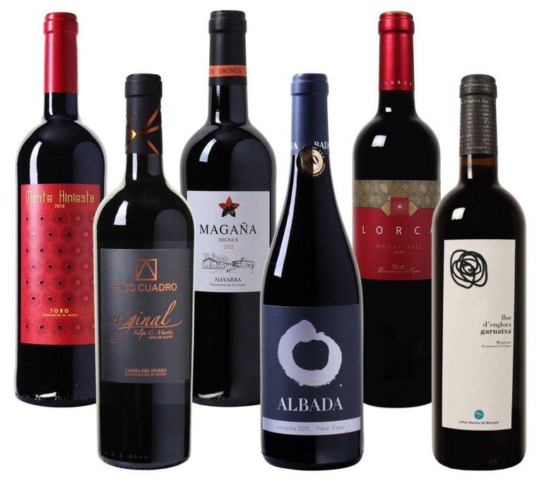 Mehrfach prämierte Weine schon ab 3,99€ pro Flasche (6 Flaschen Mindestabnahme!)