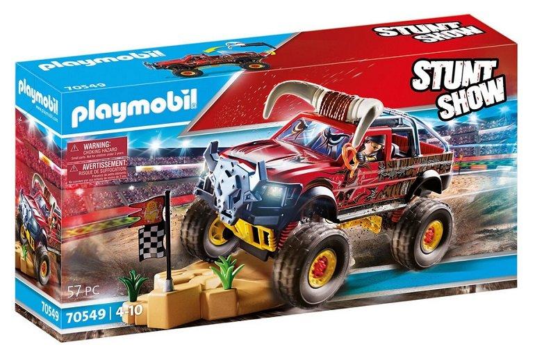 Neues Set! Playmobil Stuntshow 70549 - Monster Truck Horned für 23,94€ (statt 40€)