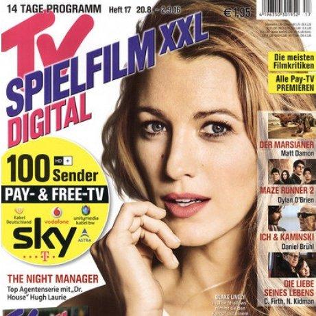 TV Spielfilm XXL Digital im Halbjahresabo für 4,95€ (statt 31,20€)