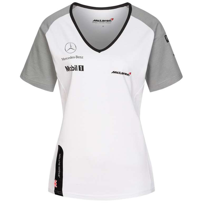 McLaren Motorsport Button Damen Shirt für 6,17€ (statt 13€)