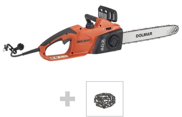 Dolmar ES43TLCX-40 1800W Elektro-Kettensäge + 2. Kette für 80,91€ inkl. Versand