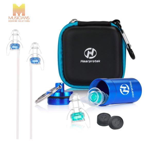 HearProtek Gehörschutz Ohrstöpsel Set mit Alubehälter & Kabel für 11,99€ (Prime)