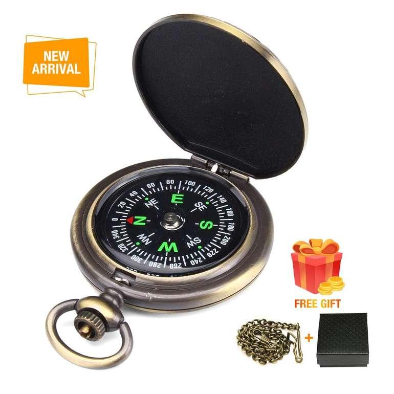 Charminer Kompass mit Leuchtziffern & Sprungdeckel für 6,96€ inkl. Prime Versand (statt 10€)