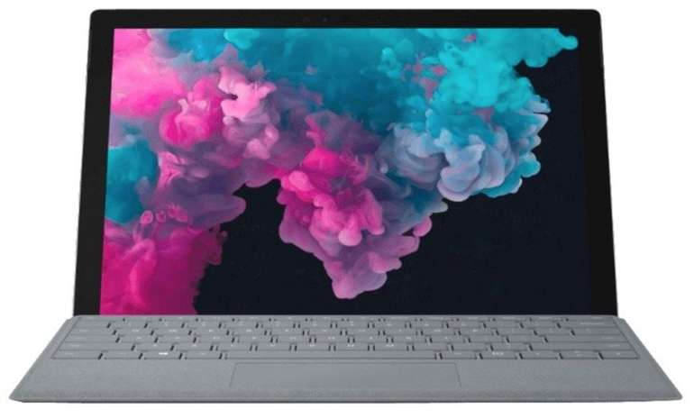 Microsoft Surface Pro 6 Convertible (m3, Intel HD-Grafik 615, 4GB RAM, 128GB SSD) für 499€