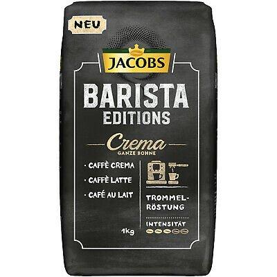1kg Jacobs Barista Editions Crema Kaffeebohnen (ganze Bohne) für 8,21€ (statt 11€) - Prime!