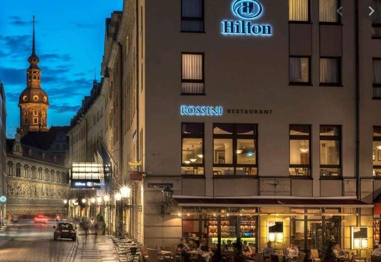 Dresden: Hilton Hotel Doppelzimmer inklusive Frühstücksbuffet für 99€ pro Nacht im März (statt 141€)