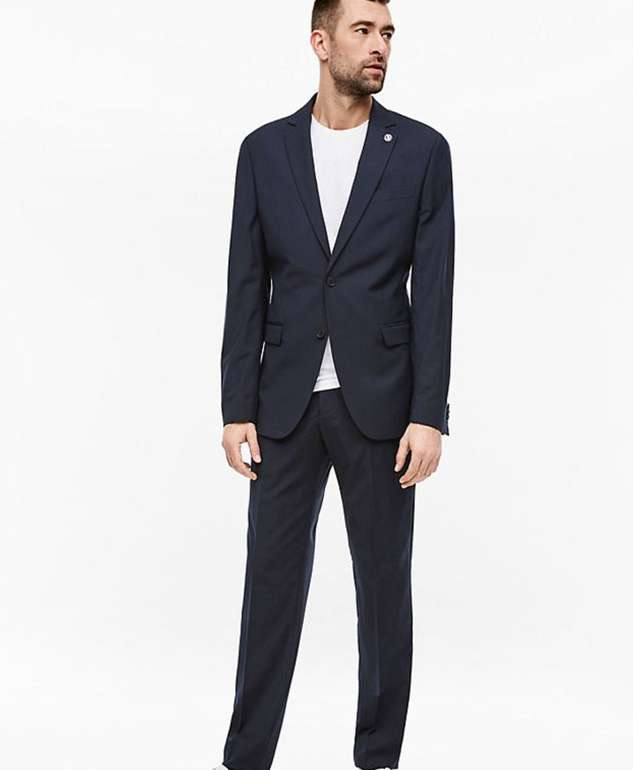 s.Oliver Regular Anzug mit Nadelstreifen für 80,98€ inkl. Versand (statt 200€)