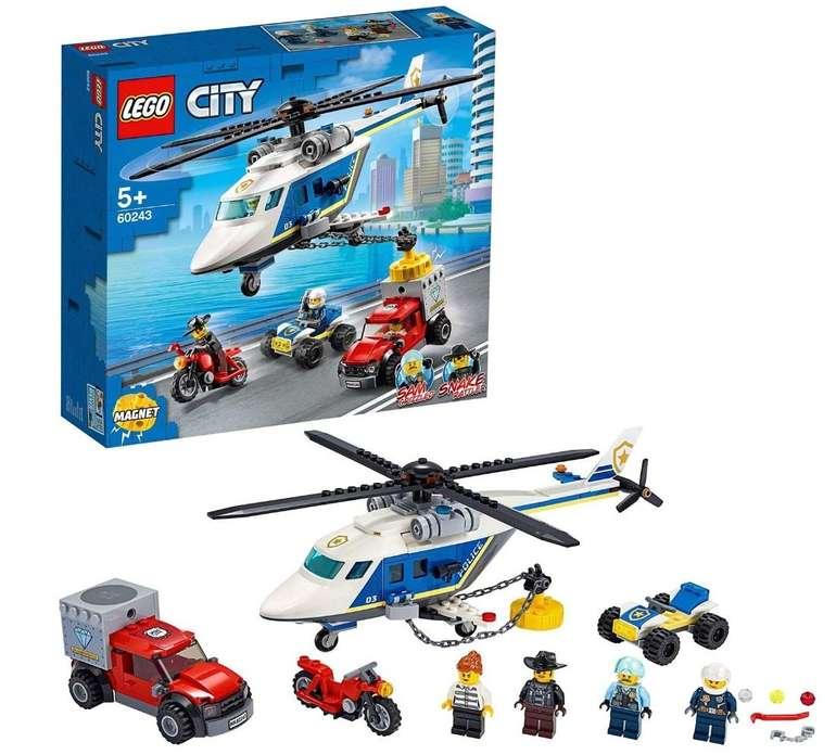 Lego City (60243) Verfolgungsjagd mit dem Polizeihubschrauber für 15,32€ (statt 25€) - Prime!