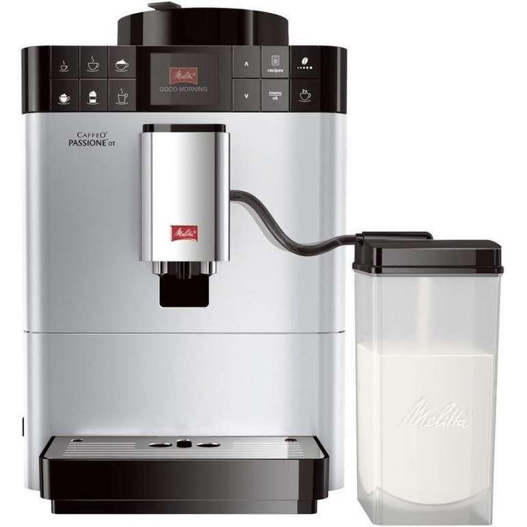 Melitta F53/1-101 Kaffeevollautomat silber mit Milchbehälter für 429€ (statt 515€)