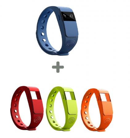 Ninetec Smartfit F2 Fitnesstracker + 3 Armbänder für 16,99€ inkl. Versand
