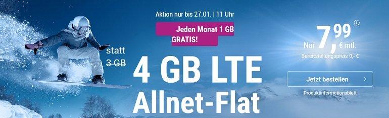 Simply O2 LTE Allnet Flat