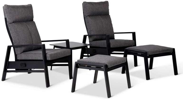 Gartenmöbel-Set Ina aus Aluminium 5-teilig für 360,62€ inkl. Versand (statt 450€)