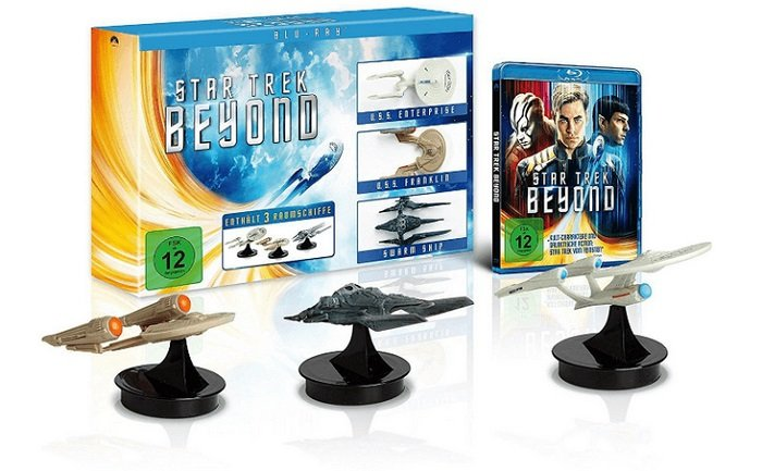 Star Trek - Beyond - Exklusive Limited Edition auf Bluray für 16€ inkl. VSK