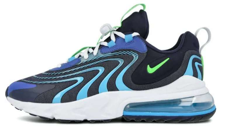 Nike Air Max 270 React Eng Herrenschuh in blau für 88€ inkl. Versand (statt 160€)