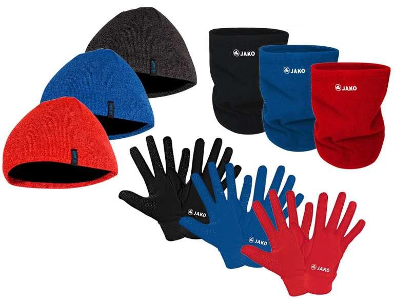 3-teiliges Jako Winterset (Handschuhe, Strickmütze, Halswärmer) für 24,95€ inkl. Versand (statt 32€)