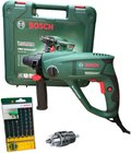 Bosch PBH Universal+ 2500 SRE Bohrhammer + 6-tlg. SDS-Plus Bohrer-Set zu 80,99€