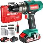 Hychika 18V Akkuschrauber + 2x2Ah Akkus & 53 teiliges Zubehör Set für 56,99€ inkl. Versand (statt 80€)
