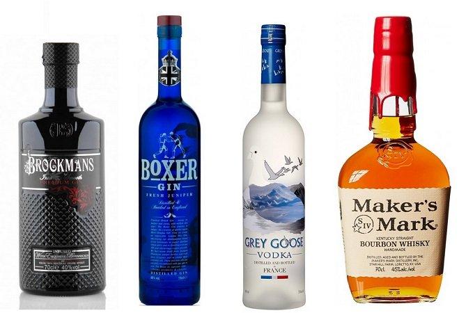 Ersten Bestellungen eingetroffen: Edle Tropfen reduziert - Gin, Whisky & Wodka