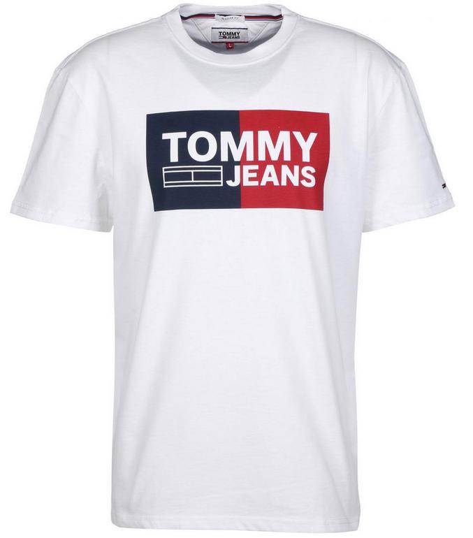Tommy Hilfiger Herren Shirt 'TJM Essential Split Box Tee' für 25,11€ (statt 32€)