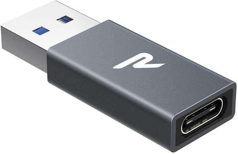 Rampow USB A 3.0 auf USB C Adapter für 4,49€ inkl. Prime Versand (statt 7€)