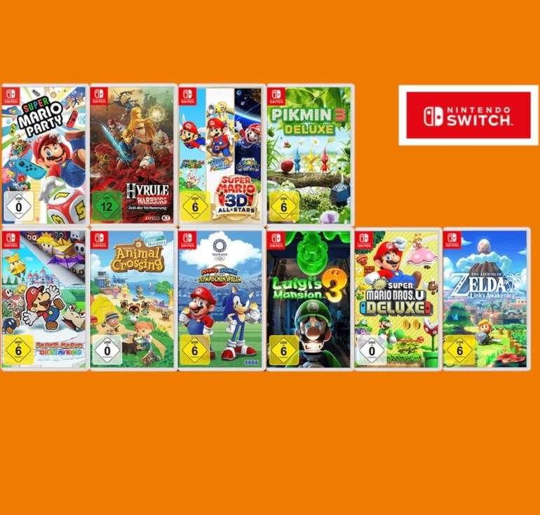 Saturn: Nintendo Switch 3-für-2 Spiele Aktion - 3 Spiele kaufen und nur 2 bezahlen