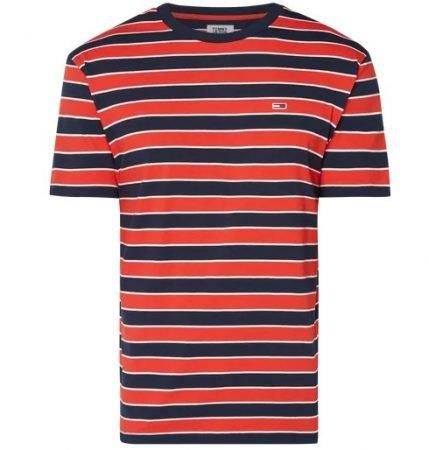 Tommy Jeans Herren Bold Stripe Tee für 25,42€ inkl. Versand