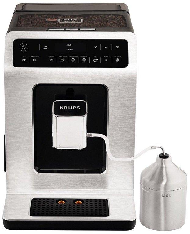Krups EA891D Kaffeevollautomat mit OLED-Touch-Bedienfeld für 444€ inkl. Versand