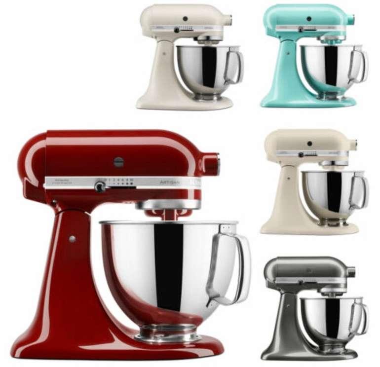 KitchenAid 5KSM125E Artisan Küchenmaschine 4,8L für 349€ inkl. Versand (statt 488€) - refurbished!