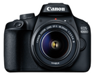 Canon EOS 4000D 18-55mm III Spiegelreflexkamera + Tasche & SD-Karte für 199€