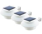 Solarzauber Dachrinnen Leuchten 3er Pack in weiß für 16,99€ inkl. Versand