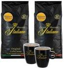 2kg Grand Maestro Italiano Edizione Limitata Kaffeebohnen + 2 Tassen für 31,98€