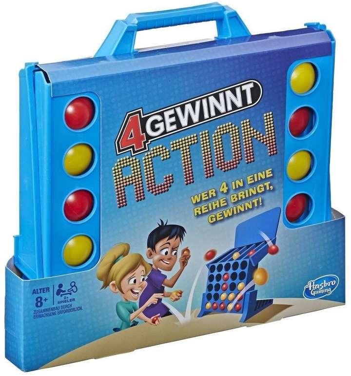 Hasbro Geschicklichkeitsspiel 4 gewinnt Action für 20,98€ inkl. Versand