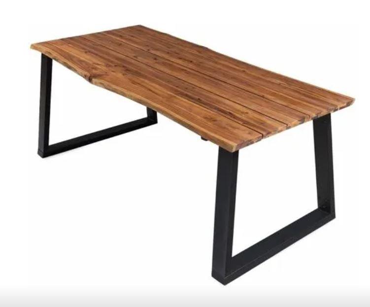 VidaXL Esstisch aus Massivholz Akazie (170x90x75 cm ) für 217,99€ inkl. Versand (statt 259€)