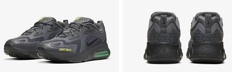Nike Air Max 200 Herren Sneaker in Grau