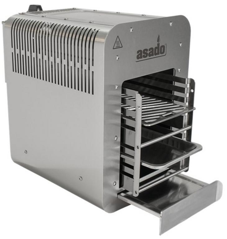 Asado 800°C Hochtemperatur-Gasgrill für 269,95€ inkl. Versand (statt 365€)