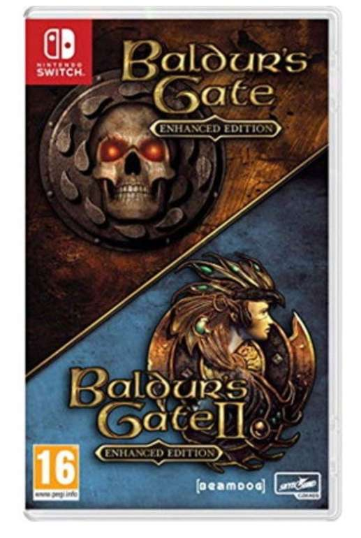 Baldur's Gate: Enhanced Edition + Baldur's Gate II: Enhanced Edition (Switch) für 24,50€ (statt 38€)