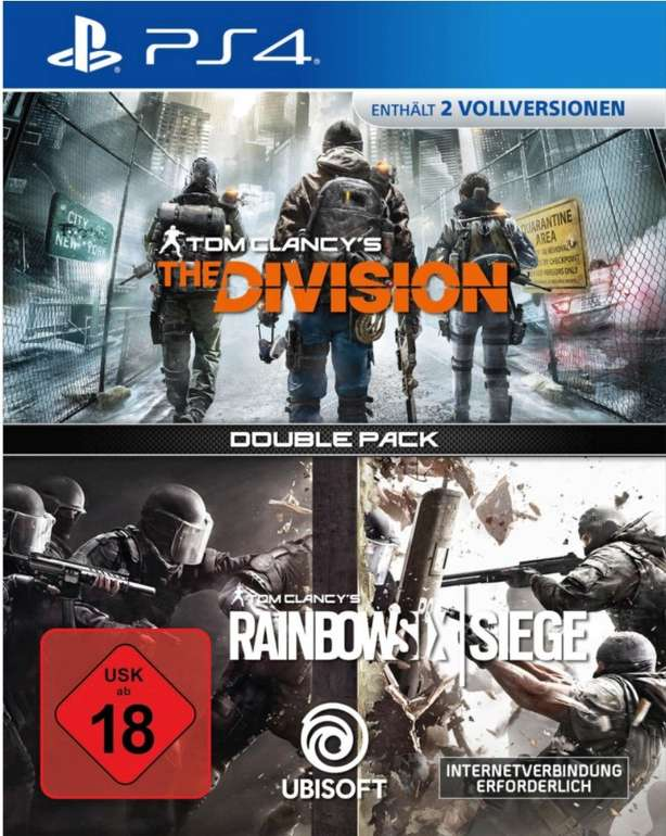 Tom Clancy's Rainbow Six: Siege + Tom Clancy's The Division (PS4) für 17,84€ inkl. Versand (statt 30€)