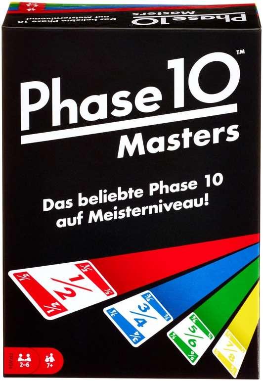 Mattel Phase 10 Masters Kartenspiel für 8,49€ inkl. Prime Versand (statt 18€)