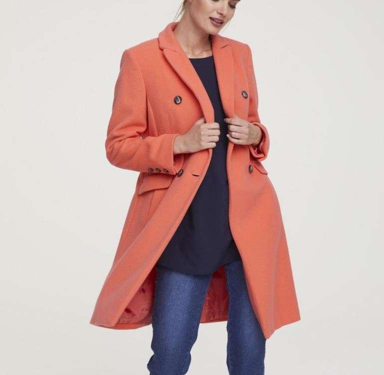 Heine mit 20% Rabatt auf Alles (auch SALE) - z.B. Damen Mantel mit Kaschmir für 79,99€ (statt 100€)